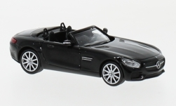 Modellauto - <strong>Mercedes</strong> AMG GTS Cabriolet, schwarz, 2017<br /><br />Minichamps, 1:87<br />Nr. 219718