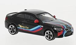 Modelcar - <strong>BMW</strong> M2, black, Pace Car, 2016<br /><br />Minichamps, 1:87<br />No. 219725