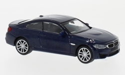 Modellauto - <strong>BMW</strong> M4, metallic-blau, 2015<br /><br />Minichamps, 1:87<br />Nr. 219727