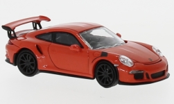 Modellauto - <strong>Porsche</strong> 911 GT3 RS, orange, 2015<br /><br />Minichamps, 1:87<br />Nr. 219738