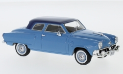 Modelcar - <strong>Studebaker</strong> Champion customs 2-door Sedan, light blue/dark blue, 1952<br /><br />Neo, 1:43<br />No. 219829