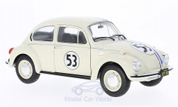 Modelcar - <strong>VW</strong> beetle 1303 Racer, beige/Decorated, Nr.53, 1973<br /><br />Solido, 1:18<br />No. 220118