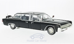 Modellauto - <strong>Lincoln</strong> Continental X-100, schwarz, Quick Fix, 1961<br /><br />Lucky Die Cast, 1:24<br />Nr. 220222