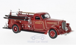 Modelcar - <strong>American LaFrance</strong> B-550RC, fire brigade, 1939<br /><br />Lucky Die Cast, 1:43<br />No. 220225