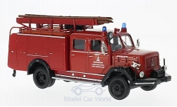 Modelcar - <strong>Magirus</strong> 150 D 10 F TLF16, fire department Magirus Ulm, 1964<br /><br />Lucky Die Cast, 1:43<br />No. 220229