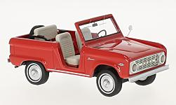 ModelCar - <strong>Ford</strong> Bronco Roadster, rot, 1966<br /><br />Neo, 1:43<br />No. 220244