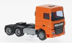 ModelCar - <strong>DAF</strong> XF 106 SC, orange<br /><br />AWM, 1:87<br />No. 220246