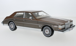 Modelcar - <strong>Cadillac</strong> Seville, copper/metallic-brown, 1980<br /><br />BoS-Models, 1:18<br />No. 220254