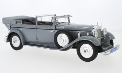 Modelcar - <strong>Mercedes</strong> Typ 770K Convertible F, grey, RHD, Kaiser Wilhelm II, 1931<br /><br />CMF, 1:18<br />No. 220255