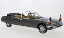Modelcar - <strong>Citroen</strong> SM presidential by Henri Chapron, metallic-grey, 1972<br /><br />CMF, 1:18<br />No. 220506