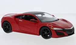 Modellauto - <strong>Acura</strong> NSX, rot, 2018<br /><br />Maisto, 1:24<br />Nr. 220530