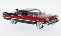 Modellauto - <strong>Dodge</strong> Custom Royal Lancer Coupe, rot/schwarz, 1959<br /><br />Neo, 1:43<br />Nr. 220650