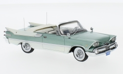Modellauto - <strong>Dodge</strong> Custom Royal Lancer Convertible, metallic-hellgrün/weiss, 1959<br /><br />Neo, 1:43<br />Nr. 220651