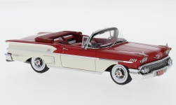 Modellauto - <strong>Chevrolet</strong> Bel Air Impala Convertible, rot/weiss, 1958<br /><br />Neo, 1:43<br />Nr. 220654