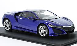 Modellauto - <strong>Acura</strong> NSX, metallic-dunkelblau/carbon<br /><br />Top Speed, 1:18<br />Nr. 220661