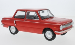 voiture miniature - <strong>Saporoshez</strong> SAS 966, rouge, 1966<br /><br />MCG, 1:18<br />N° 220862