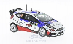 Modelcar - <strong>Ford</strong> Fiesta RS WRC, No.17, Rallye WM, Rally Monte Carlo, B.Bouffier/V.Bellotto, 2016<br /><br />IXO, 1:43<br />No. 220867