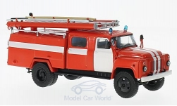 Modelcar - <strong>GAZ</strong> 53-12 (106B) AC-30, red/white, fire brigade<br /><br />Start Scale Models, 1:43<br />No. 220899