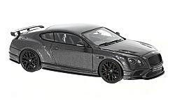 Modellauto - <strong>Bentley</strong> Continental Supersports, metallic-dunkelgrau<br /><br />Look Smart, 1:43<br />Nr. 221034