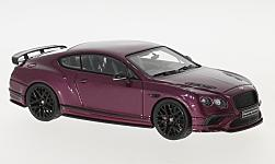 Modellauto - <strong>Bentley</strong> Continental Supersports, metallic-violett<br /><br />Look Smart, 1:43<br />Nr. 221035