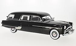 voiture miniature - <strong>Packard</strong> Henney Hearse, noire, 1952<br /><br />BoS-Models, 1:18<br />N° 221116