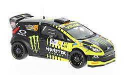 Modelcar - <strong>Ford</strong> Fiesta RS WRC, No.46, Monster, Rallye Monza, V.Rossi/C.Cassina, 2013<br /><br />IXO, 1:43<br />No. 221119