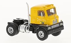 Modelcar - <strong>Mack</strong> H673-ST, yellow, towing vehicle, 1960<br /><br />BoS-Models, 1:87<br />No. 221199