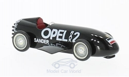 voiture miniature - <strong>Opel</strong> RAK2, noire, 1928<br /><br />BoS-Models, 1:87<br />N° 221206