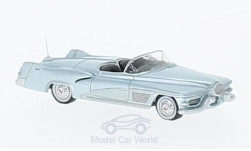 Modellauto - <strong>GM</strong> Le Sabre Concept, metallic-hellblau, 1951<br /><br />BoS-Models, 1:87<br />Nr. 221207
