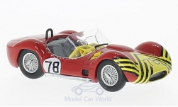 ModelCar - <strong>Maserati</strong> Tipo 61, RHD, No.78, Nassau Trophy, B.Schroeder, ohne Vitrine, 1961<br /><br />SpecialC.-89, 1:43<br />No. 221231