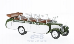 Modelo de coche - <strong>Citroen</strong> T23RU Chassaing, verde oliváceo/blanco, sin vitrina, 1947<br /><br />SpecialC.-86, 1:43<br />Nº 221406