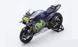 Modelcar - <strong>Yamaha</strong> YZR M1, No.46, Movistar Yamaha MotoGP team, Monster, MotoGP, GP Spain, V.Rossi, 2016<br /><br />Spark, 1:12<br />No. 221469