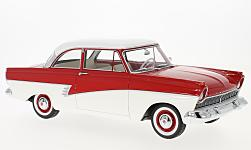 Modelcar - <strong>Ford</strong> Taunus 17M (P2), red/white, 1957<br /><br />BoS-Models, 1:18<br />No. 221596