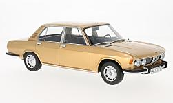 Modelcar - <strong>BMW</strong> 2500 (E3), gold, 1968<br /><br />BoS-Models, 1:18<br />No. 221598