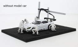 Modelcar - <strong>Set</strong> Pit Stop, white, 6 figures with accessories<br /><br />IXO, 1:43<br />No. 221603
