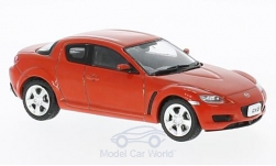 Modellauto - <strong>Mazda</strong> RX-8, rood, RHD, 2003<br /><br />First 43 Models, 1:43<br />Nr. 221831