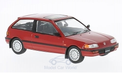Modellauto - <strong>Honda</strong> Civic, rot, RHD, 1987<br /><br />First 43 Models, 1:43<br />Nr. 221833