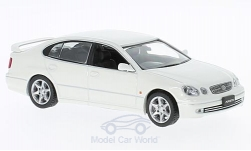 Modellino - <strong>Toyota</strong> Aristo, metallic-bianco, RHD, 2001<br /><br />First 43 Models, 1:43<br />n. 221836
