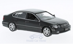 Modellino - <strong>Toyota</strong> Aristo, nero, RHD, 2001<br /><br />First 43 Models, 1:43<br />n. 221837