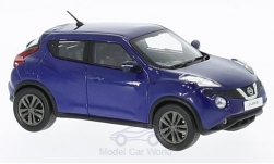 Modellauto - <strong>Nissan</strong> Juke, donkerblauw, RHD, 2015<br /><br />First 43 Models, 1:43<br />Nr. 221838