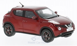 Modellauto - <strong>Nissan</strong> Juke, metallic-rood, RHD, 2015<br /><br />First 43 Models, 1:43<br />Nr. 221839