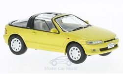 Modellino - <strong>Toyota</strong> Sera, metallic-giallo, RHD, 1990<br /><br />First 43 Models, 1:43<br />n. 221844