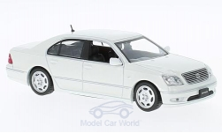 Modellino - <strong>Toyota</strong> Celsior, metallic-bianco, RHD, 2001<br /><br />First 43 Models, 1:43<br />n. 221854