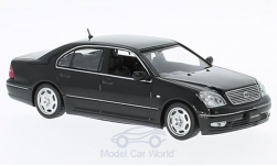 Modellino - <strong>Toyota</strong> Celsior, nero, RHD, 2001<br /><br />First 43 Models, 1:43<br />n. 221855