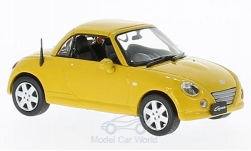 Modellauto - <strong>Daihatsu</strong> Copen, gelb, RHD, 2004<br /><br />First 43 Models, 1:43<br />Nr. 221856