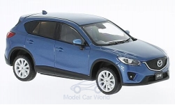 Modellauto - <strong>Mazda</strong> CX-5, metallic-blauw, RHD, 2013<br /><br />First 43 Models, 1:43<br />Nr. 221863