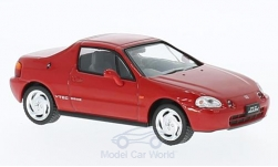 Modellauto - <strong>Honda</strong> CR-X DelSol, rood, RHD, 1992<br /><br />First 43 Models, 1:43<br />Nr. 221866