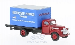 Modellauto - <strong>Chevrolet</strong> Box Truck, United States Plywood<br /><br />Classic Metal Works, 1:87<br />Nr. 221869