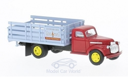 Modellauto - <strong>Chevrolet</strong> Stake Bed Truck, Blue Coal<br /><br />Classic Metal Works, 1:87<br />Nr. 221870