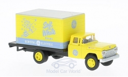 Modellauto - <strong>Ford</strong> Box Truck, General Electric Co. Lamp Division, 1960<br /><br />Classic Metal Works, 1:87<br />Nr. 221871